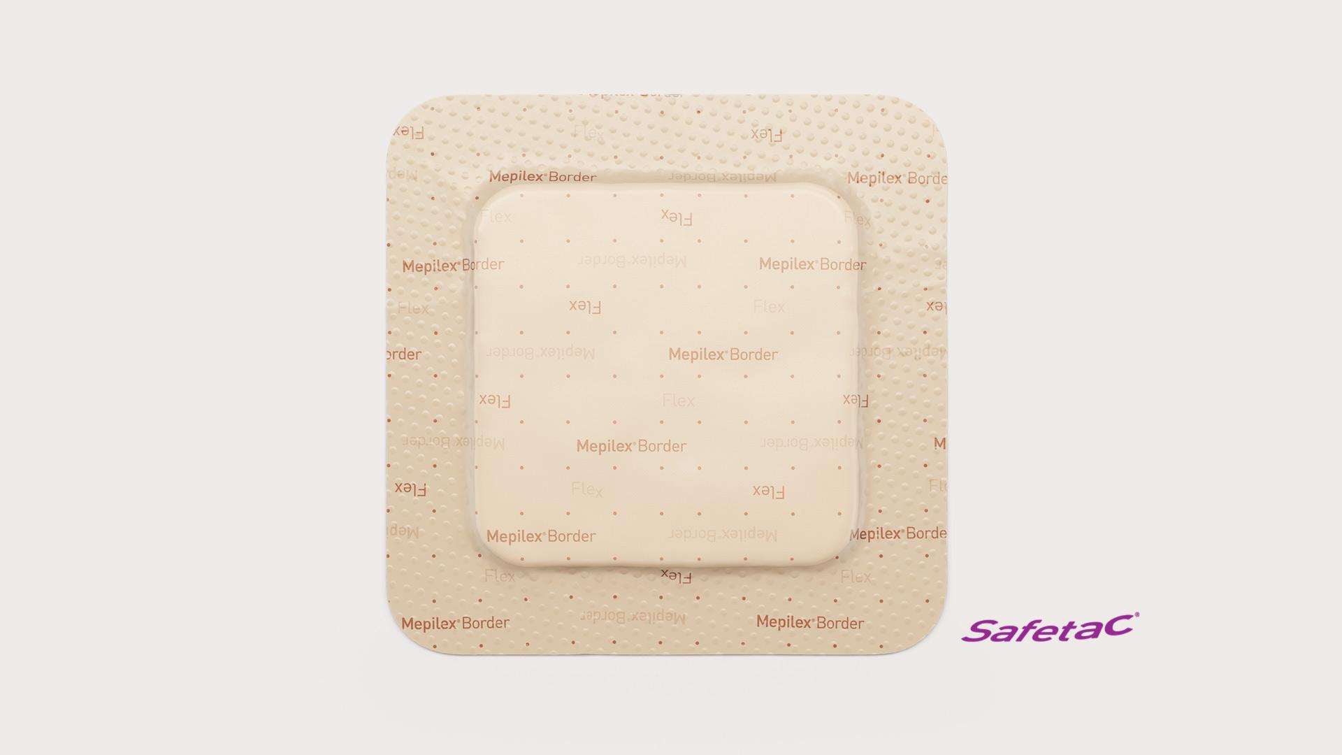 Mepilex Border Flex advanced foam dressing with extra conformability