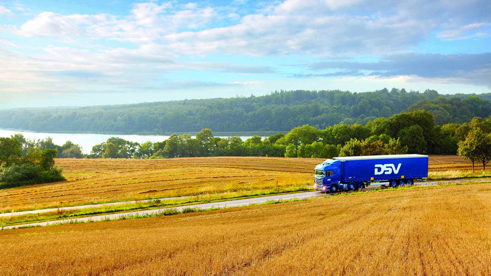 The fill rate of our trucks is maximised to reduce emissions